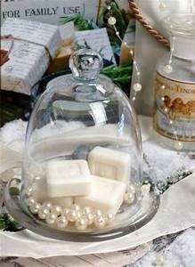 Bad Deko Vintage : glasglocke butterglocke glas k seglocke badezimmer deko shabby vintage country ebay ~ Markanthonyermac.com Haus und Dekorationen
