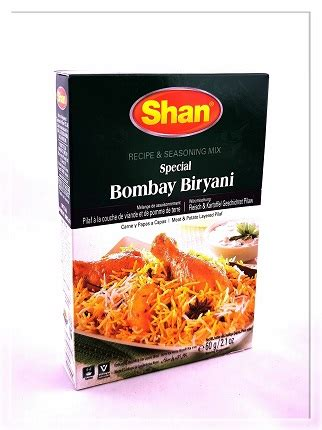 Indiešu garšvielas Bombay Biryani Masala 60g - Cikāde ...