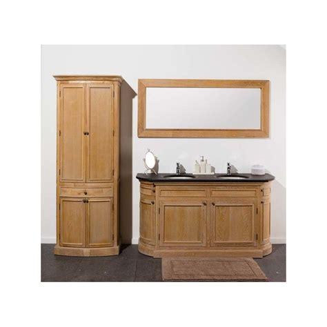 banio flamant meuble de salle de bain chene clair avec