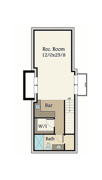 Plan Craftsman Narrow Lot Garage Bed Plans