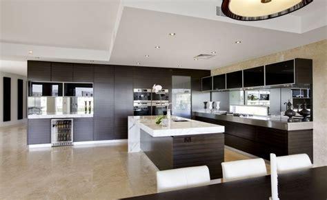 modern open plan kitchens interior design ideas
