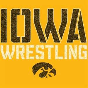 Iowa Hawkeyes Wrestling Logo