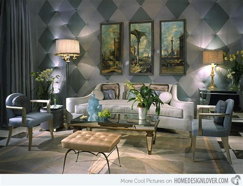15 Art Deco Inspired Living Room Designs  Decoration For