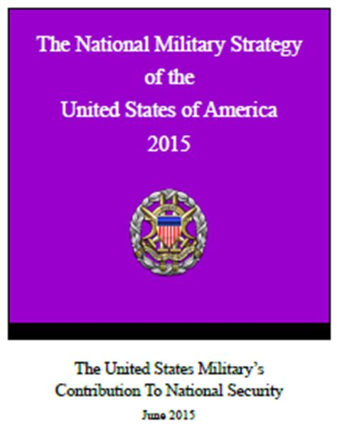 national military strategy nms acqnotes