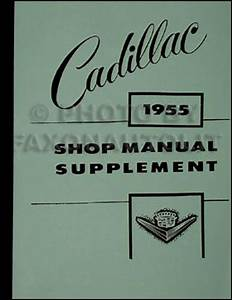1954 Cadillac Repair Shop Manual Original