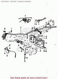 Suzuki Quad Lt80 Wiring Harnes