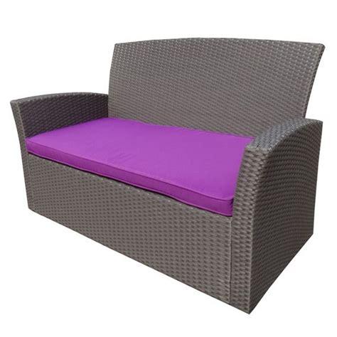 coussin de canapé coussin de canapé 2 places ibiza violet coussin de salon