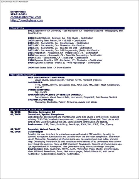 And Paste Resume Template by Resume Template Copy And Paste Free Sles Exles