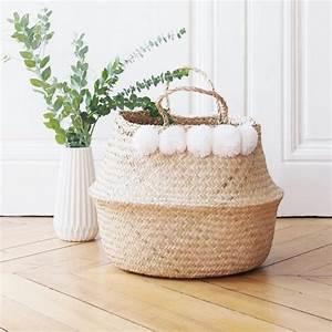 deco printemps 20 idees pour s39accorder a la saison With tapis jonc de mer avec canapé blanc et bois