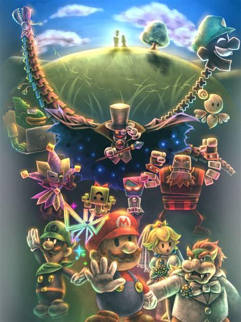 Super Paper Mario By ~watanabe Rairai On Deviantart