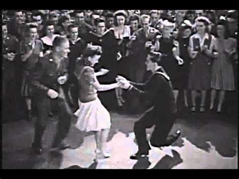 1940s Lindy Hop Dance Sequence With Jean Veloz In Swing