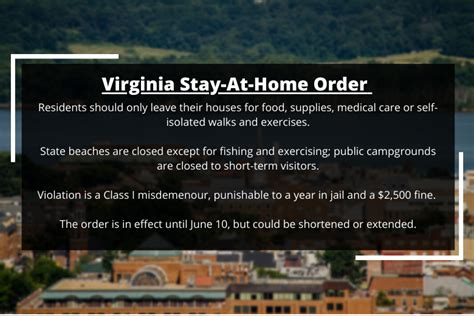 virginia stay  home order whats allowed wtop