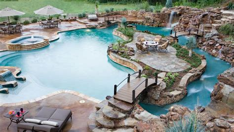 Backyard Pool With Lazy River by Lazy River Pool My Waterin