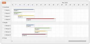 Javascript Scheduler Daypilot For Javascript Html5