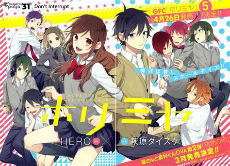 anime comedy ongoing horimiya 31 read horimiya 31 page 2