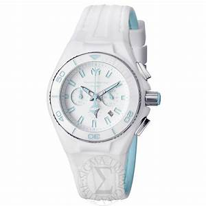 Technomarine Cruise Original Unisex White Chronograph Dial
