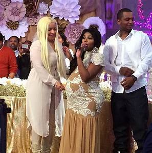 Bellyitch: Inside Lil Kim's Royal Themed Baby Shower ...