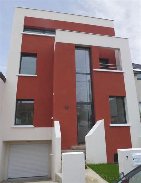 maison moderne de ville moderne fa 231 ade par archi0nline