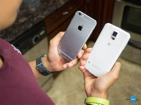 samsung galaxy s5 vs iphone 6 iphone 6 vs samsung galaxy s5 speed comparison which is