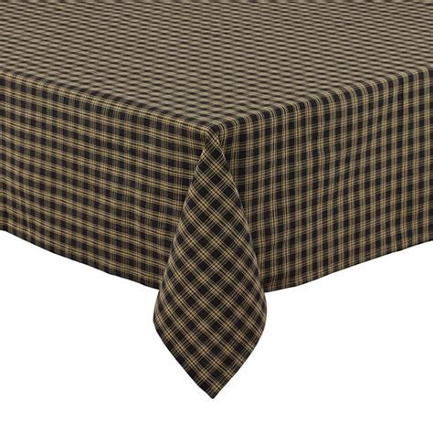 Black Sturbridge Tablecloth