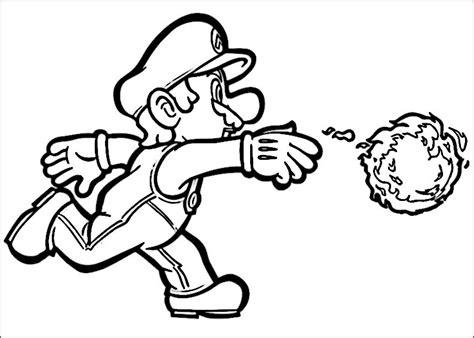 Mario Kleurplaten Printen by Mario Bros Kleurplaat Printen 7