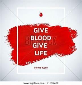 Creative Blood Donor Day Vector & Photo | Bigstock