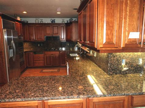 v hurley baltic brown granite kitchen countertop