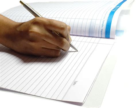 PPM A4 White Ruled Project Sheets, 200Pcs Project Paper ...
