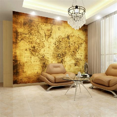custom large mural hotel bedroom living room tv background
