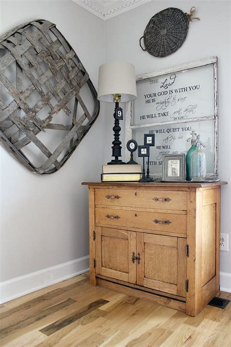 How To Decorate With Tobacco Baskets  Noting Grace