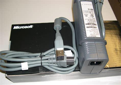xbox power supply new genuine microsoft xbox 360 power supply for xbox 360 slim ebay