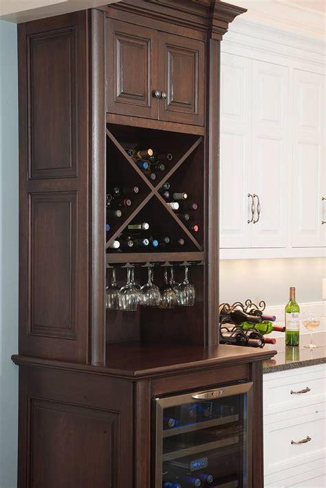 wine storage cabinet  stemware rack  wine cooler