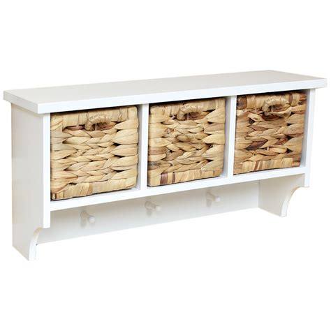 white shelf with hooks interior two tiers white entryway shelf with 5 hooks for