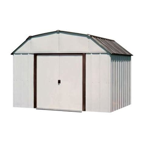 Metal Storage Shed Home Depot by Arrow Concord 10 Ft X 14 Ft Metal Storage Building