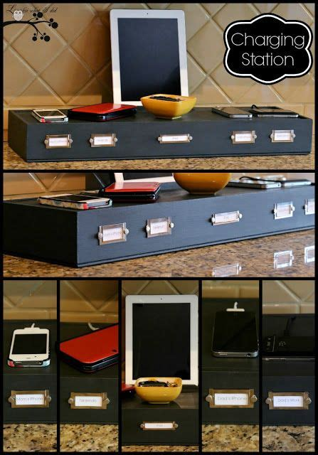 organize a small kitchen lookie what i did turn a shadowbox into a charging 3776