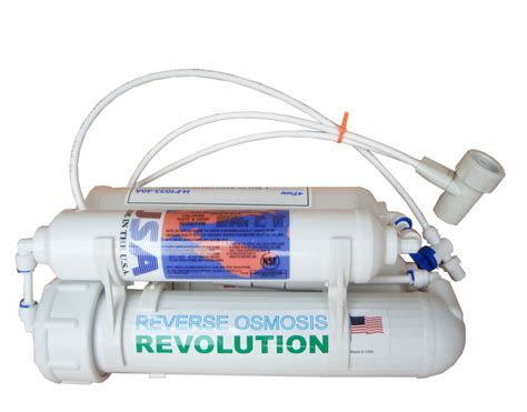 kitchen faucet with filter 4 stage osmosis revolution water purification system