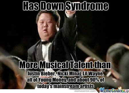 Funny Down Syndrome Memes - never set limits likes pinterest down syndrome
