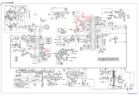 Beko Tel Chassis Circuit Diagram Service Manual