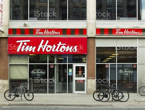 Gjtim will offer you best shopping feeling. Tim Hortons Coffee Shop Stock Photo - Download Image Now - iStock
