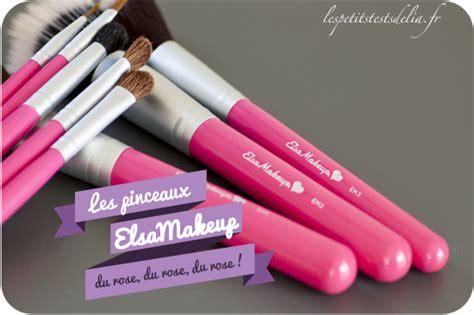 elsamakeup cuisine les jolis pinceaux tout beaux tout roses d 39 elsamakeup