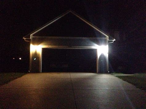 exterior led lights for homes garage exterior lighting my led house