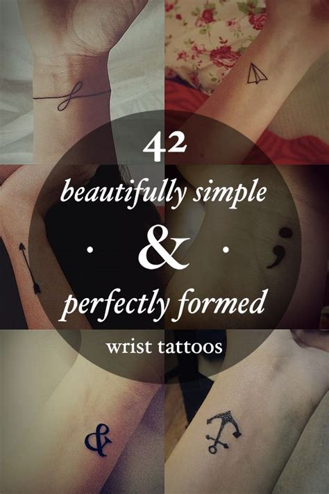 meaningful tattoos ideas  beautifully simple  perfectly formed small wrist tattoos