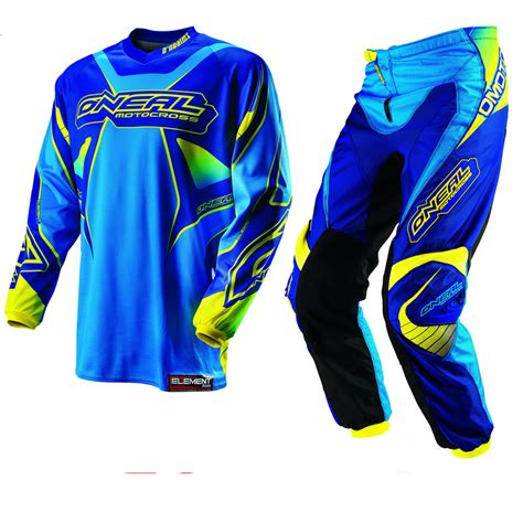 infant motocross oneal 2013 element kids blue junior youth motocross jersey