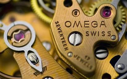 Omega Watches Wallpapers Speedmaster Clock Gears Desktop