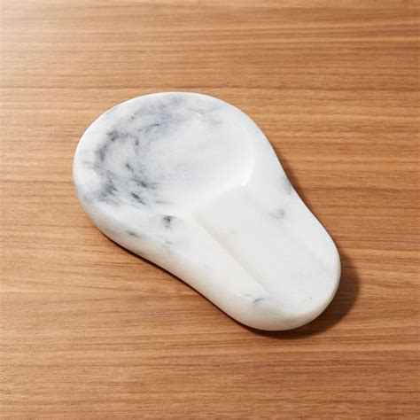 french kitchen marble spoon rest reviews crate  barrel