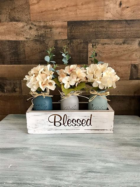 50+ Best Rustic Wooden Box Centerpiece Ideas and Designs