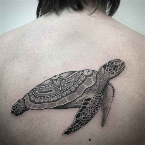 superb sea turtle tattoos parryzcom