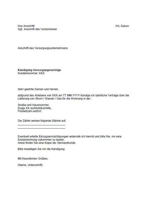 muster kündigung wohnung vorlage k 252 ndigung wohnung k 252 ndigung vorlage fwptc