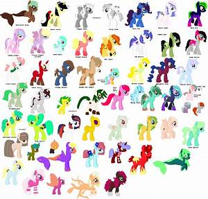 Names Of Characters From My Little Pony Pictures to Pin on ...
