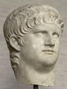 Head of the emperor Nero. Munich, Glyptotek